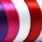 10m of 25mm Satin Ribbon